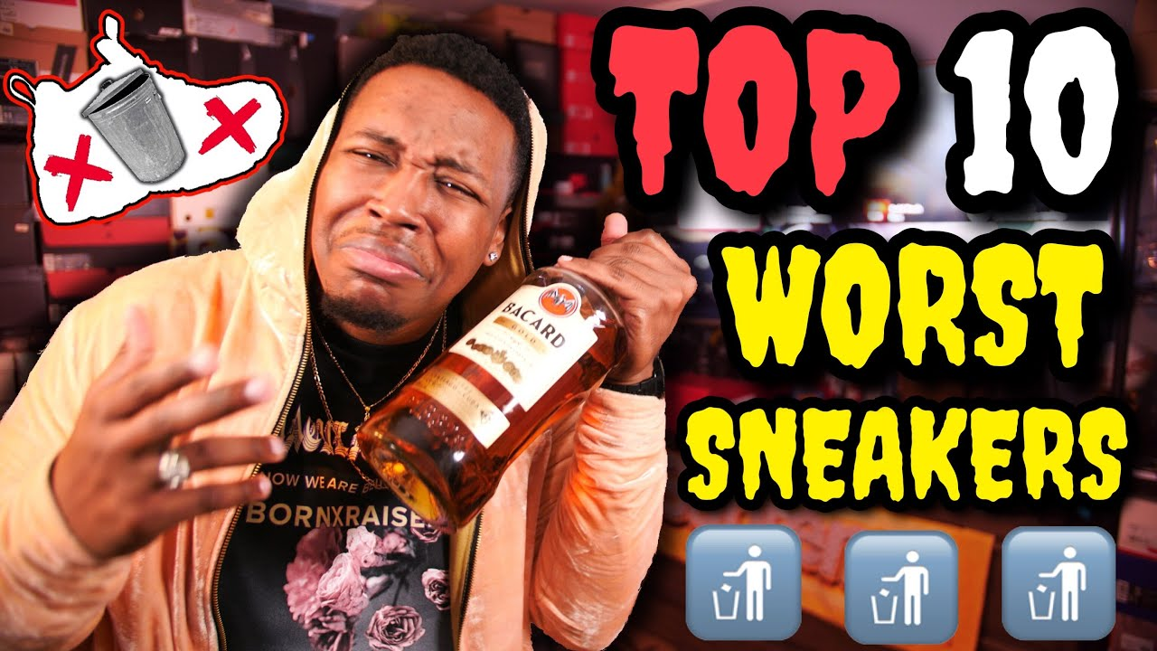 Download TOP 10 WORST SNEAKERS OF 2018!!! TRIGGER WARNING ⚠️  DO NOT BUY THESE!