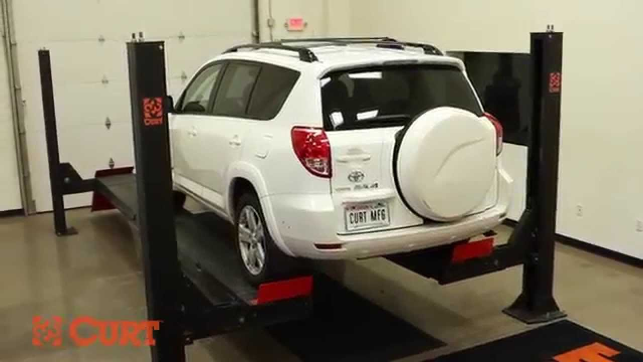 Trailer Hitch Installation CURT 13149 On 2007 Toyota RAV 4 YouTube - Install Trailer Hitch Rav4