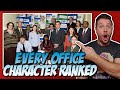 All 25 The Office Characters Ranked!