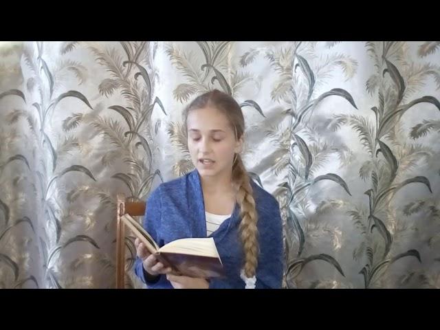 Изображение предпросмотра прочтения – СофияПодбуртняя читает произведение «Имя твоё - птица в руке» М.И.Цветаевой