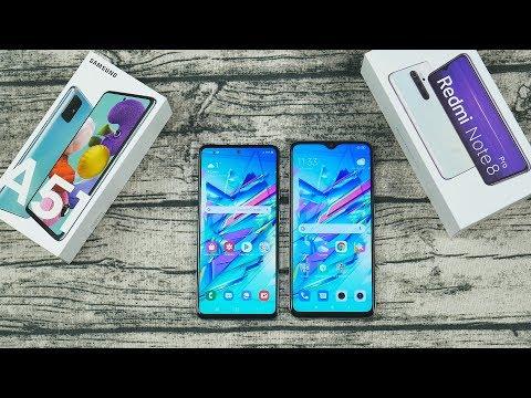 Samsung Galaxy A51 или Redmi Note 8 Pro - ПОДРОБНОЕ СРАВНЕНИЕ, зачем платить больше?