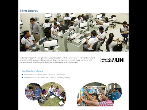 SLT Training Center - UGC recognised foreign Engineering Degree ( 16 lakhs )