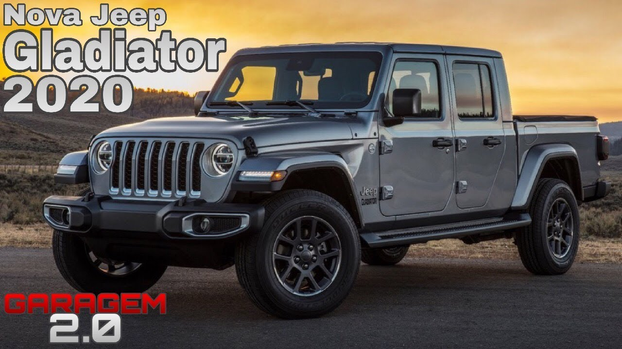 Nova Jeep Gladiator 2020 Garagem 2 0 Youtube