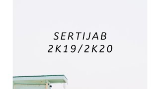 "Sertijab 2k19/2k20 ""The beginning"""