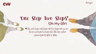[Vietsub + Engsub + Hangul] Oh My Girl (오마이걸 ) - One Step, Two Steps (한 발짝 두 발짝)
