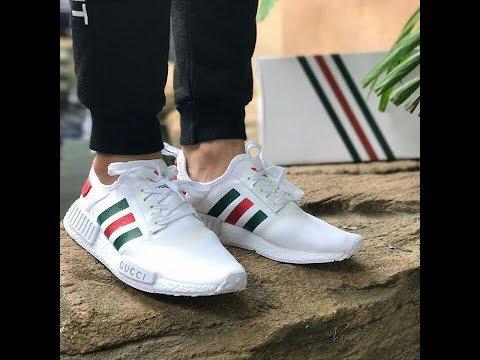 adidas nmd white gucci