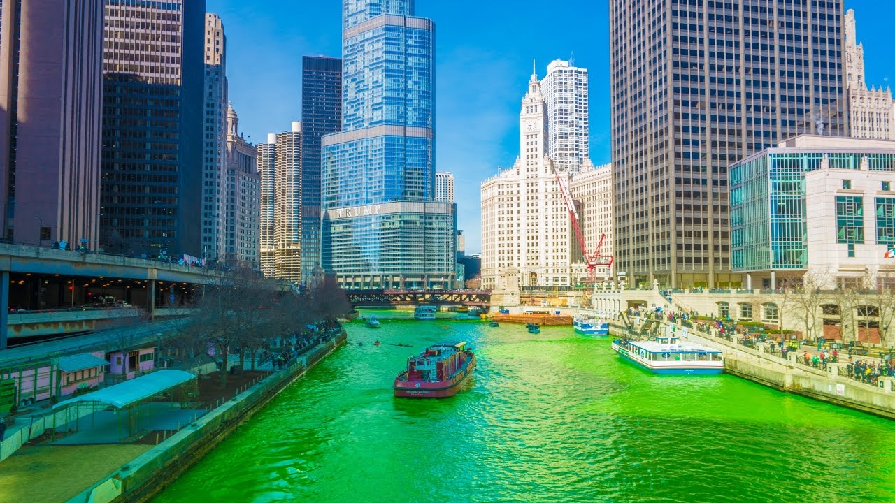 Chicago River GrГјn