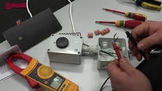 HeatXL industriele thermostaat aansluiten infrarood verwarming
