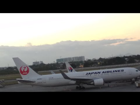 JAL Japan Airlines Manila to Narita International Airport