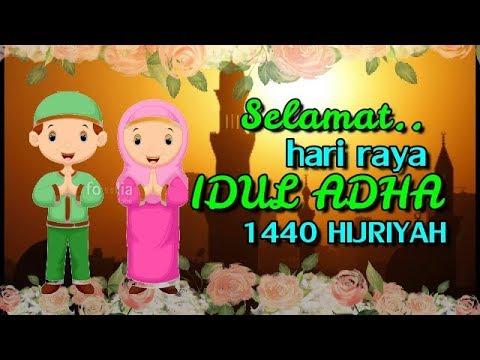 Free, Gratis, No Copyright..ucapan selamat hari raya Idul Adha 1440 Hijr...