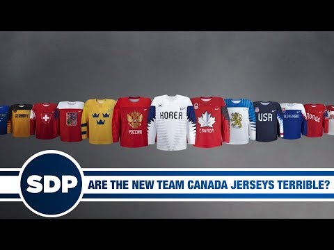 Are The New Team Canada Jerseys Terrible? | The Steve Dangle Podcast