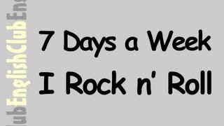 7 Days a Week I Rock n