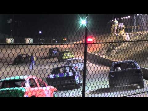 Texas Thunder Speedway Outlaw Twister Feature July 13, 2013