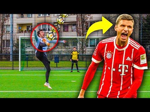 EPISCHE THOMAS MÜLLER FUßBALL CHALLENGE !