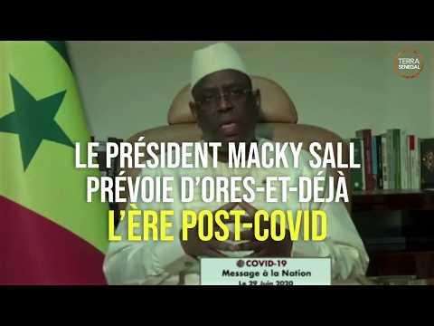 Les ambitions du Sénégal pour l'après Coronavirus