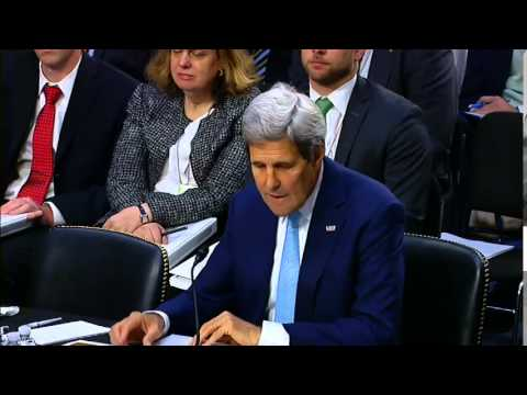 Secretary Kerry Testifies Before the Senate Foreign Relations Committee