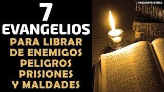 Poderosa oración de los 7 Evangelios, para librar de enemig...