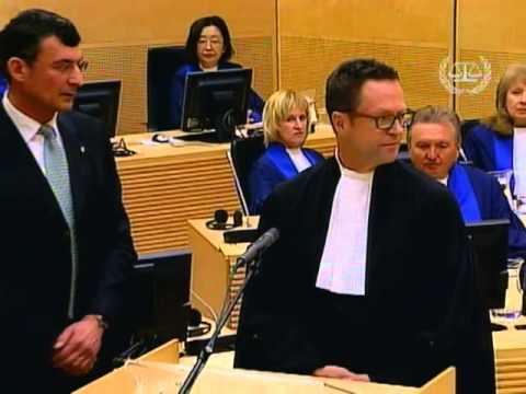ICC's new Registrar Herman von Hebel takes oath - 18 April 2013