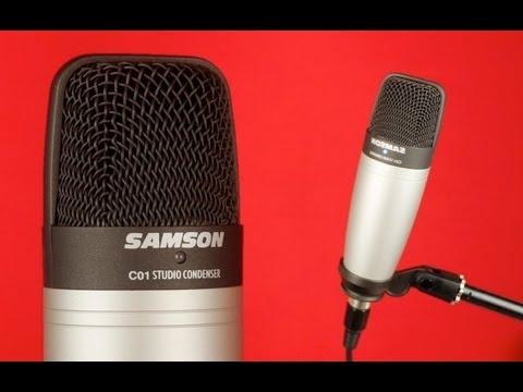 samson c01 studio condenser microphone review youtube. Black Bedroom Furniture Sets. Home Design Ideas