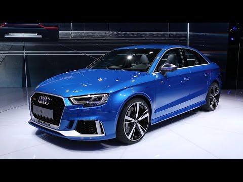 2018 Audi RS 3 Sedan First Look - 2016 Paris Motor Show