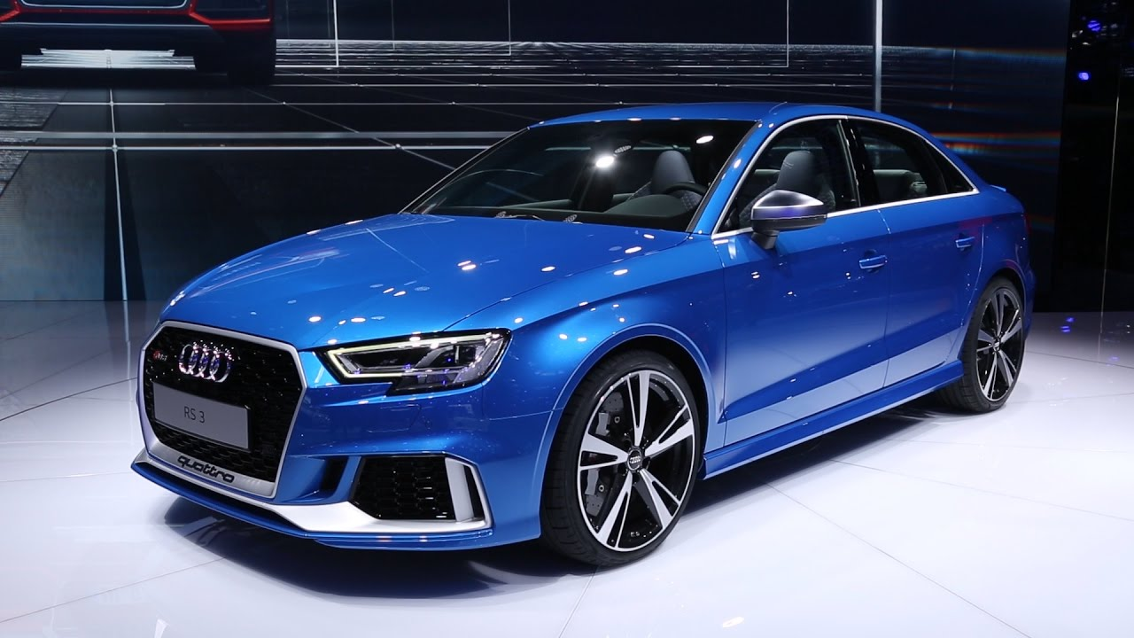2018 audi rs 3 sedan first look 2016 paris motor show. Black Bedroom Furniture Sets. Home Design Ideas