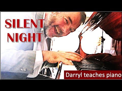 Silent Night Piano Lesson For Beginners Youtube