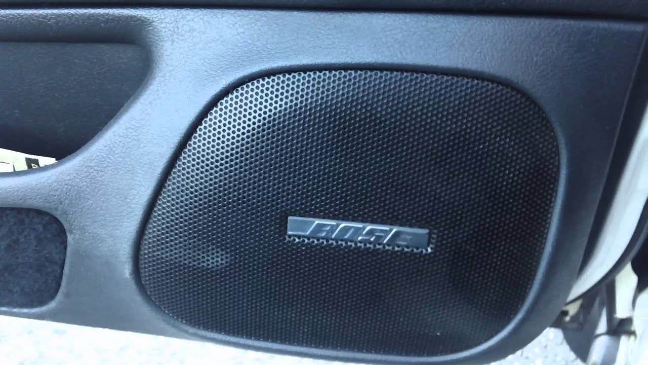 Nissan Maxima Bose System Bypass Kdc X695 6 5 6x9 Speakers Al