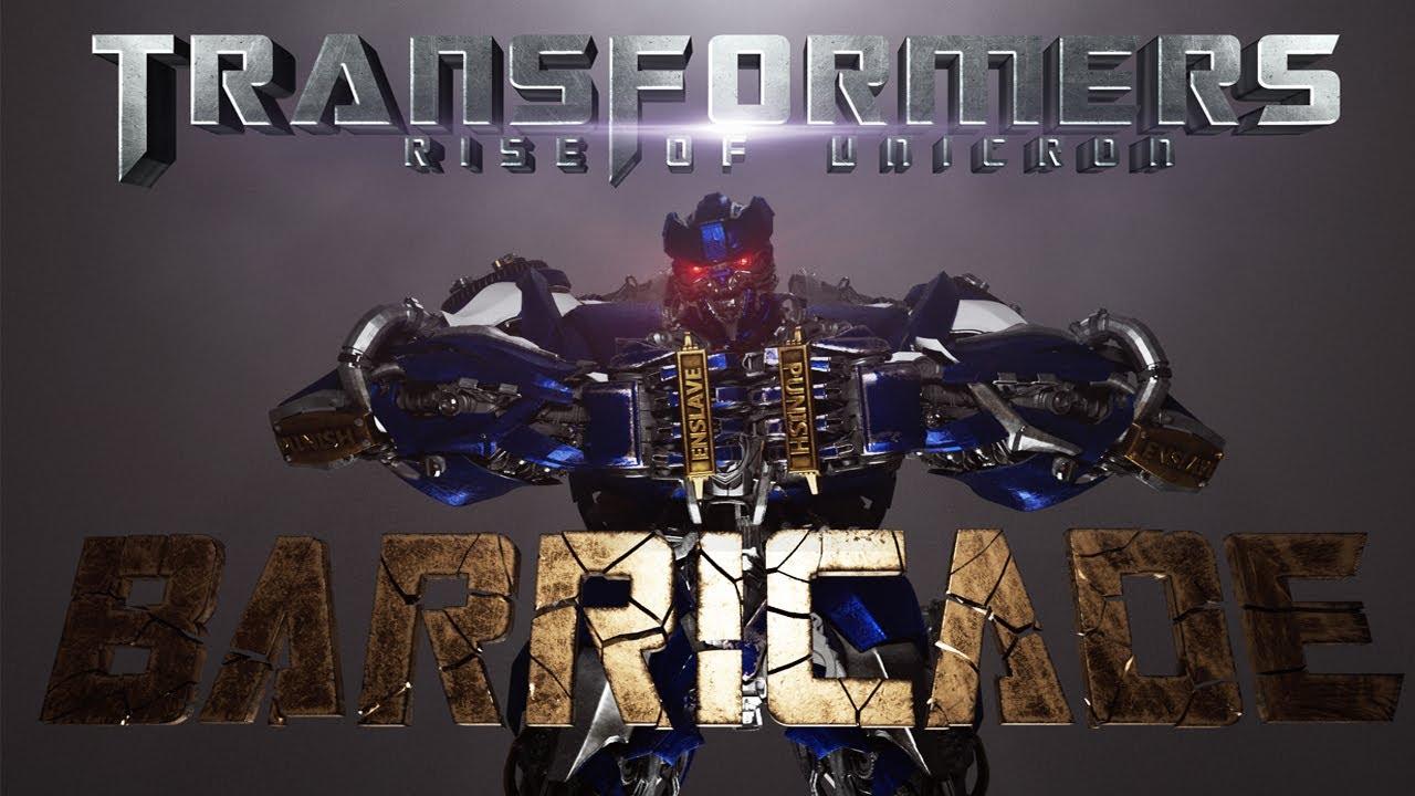 Transformers Rise Of Unicron (2023) - Barricade Reveal Teaser [FAN FILM]