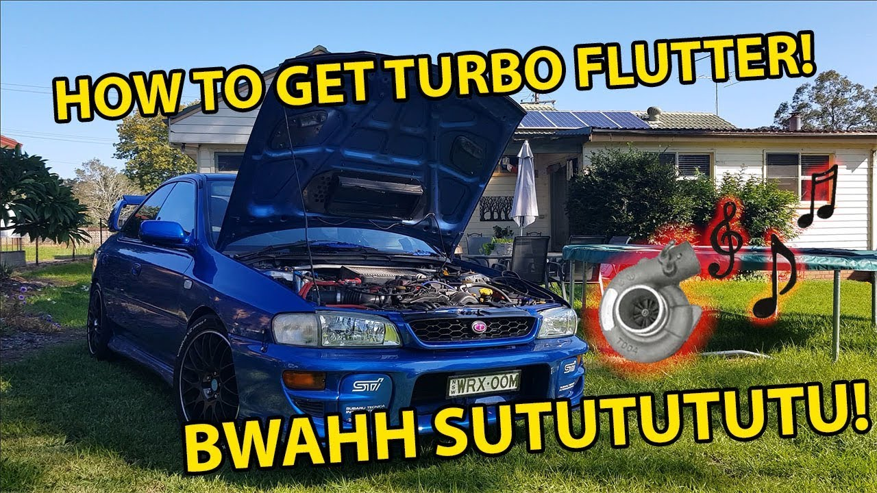 Turbo flutter sound bad