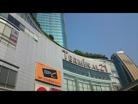 Terminal 21 - Bangkok Shopping Mall | Travel in Thailand 2016
