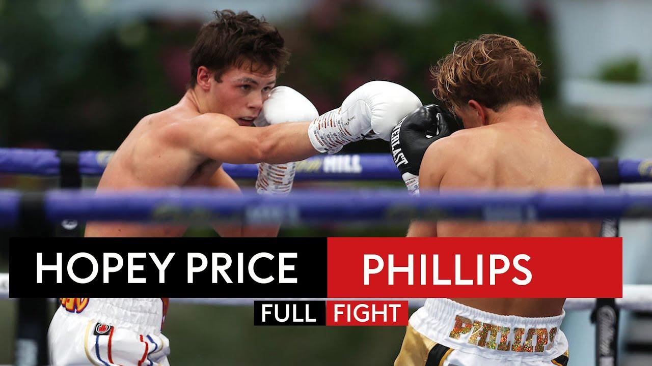 FULL FIGHT! Hopey Price shines in dominant display over Jonny Phillips 🌟