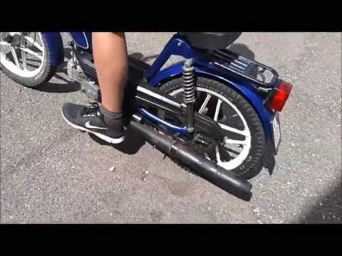 moped fahren 39 sachs optima 50 39 youtube. Black Bedroom Furniture Sets. Home Design Ideas