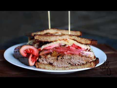 Andrew Zimmern Cooks: The Ultimate Brisket Sandwich