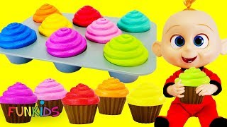 Baby Jack Jack in Broken High Chair with Birthday Cup Cakes & Magical Eggs