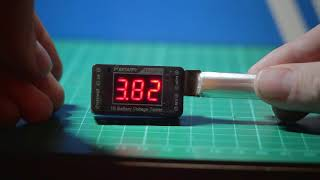 BETAFPV 1S LiPo Battery Voltage Tester