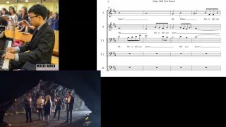 Mary, Did you Know? Pentatonix Choral Sheet Music(5-Part: SATTB + Lyrics, scored by MusicHaven)
