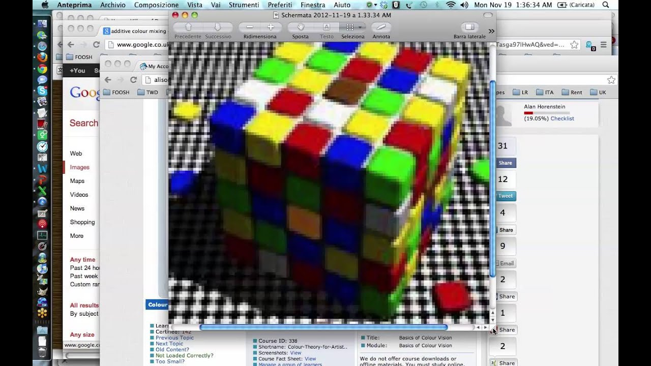 Color theory online games - Color Theory Cube Illusion