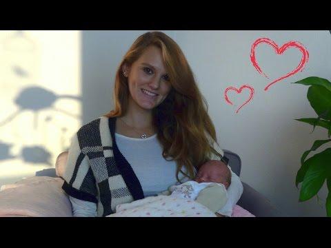 Baby update #1 | Frühchen 34+0 SSW | erste Woche Zuhause | Dressedlikepinguu
