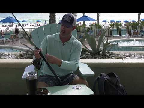 Half Hitch Securing Your Rod Line