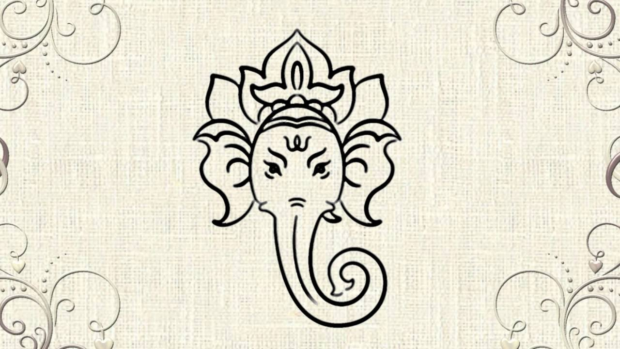 How to draw lord ganesha youtube