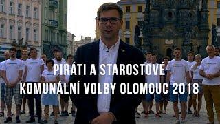 Komunální volby Olomouc 2018 - Piráti a Starostové