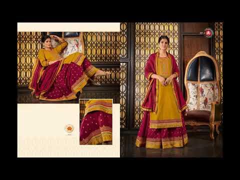Kadambari Triple Aaa Salwar Suits    Manufacturer Wholesaler Ahmedabad Surat