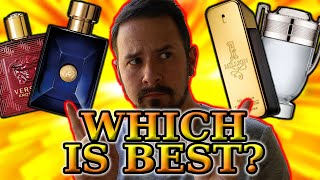 VERSACE EROS VS PACO RABANNE INVICTUS - WHICH FRAGRANCE HOUSE IS BETTER?