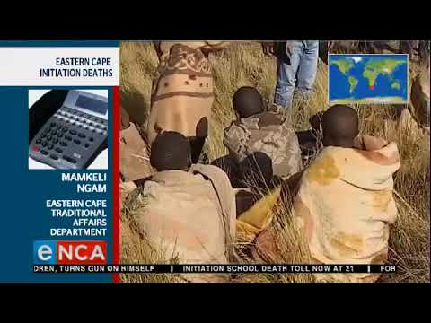 Eastern Cape initiation deaths