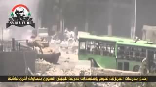 Сирия.....Танкисты мочат ИГИЛ СИДЯ В!!!!! ГОРЯЩЕМ!!!!!! ТАНКЕ
