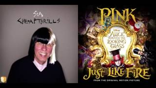 Sia vs. P!nk - Just Like Cheap Thrills (Mashup)