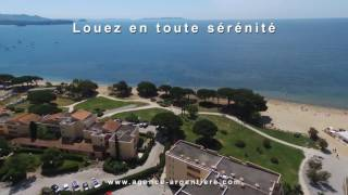 Bienvenue à la plage de L'Argentière à La Londe Les Maures