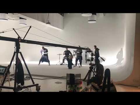 Съемки музыкального клипа