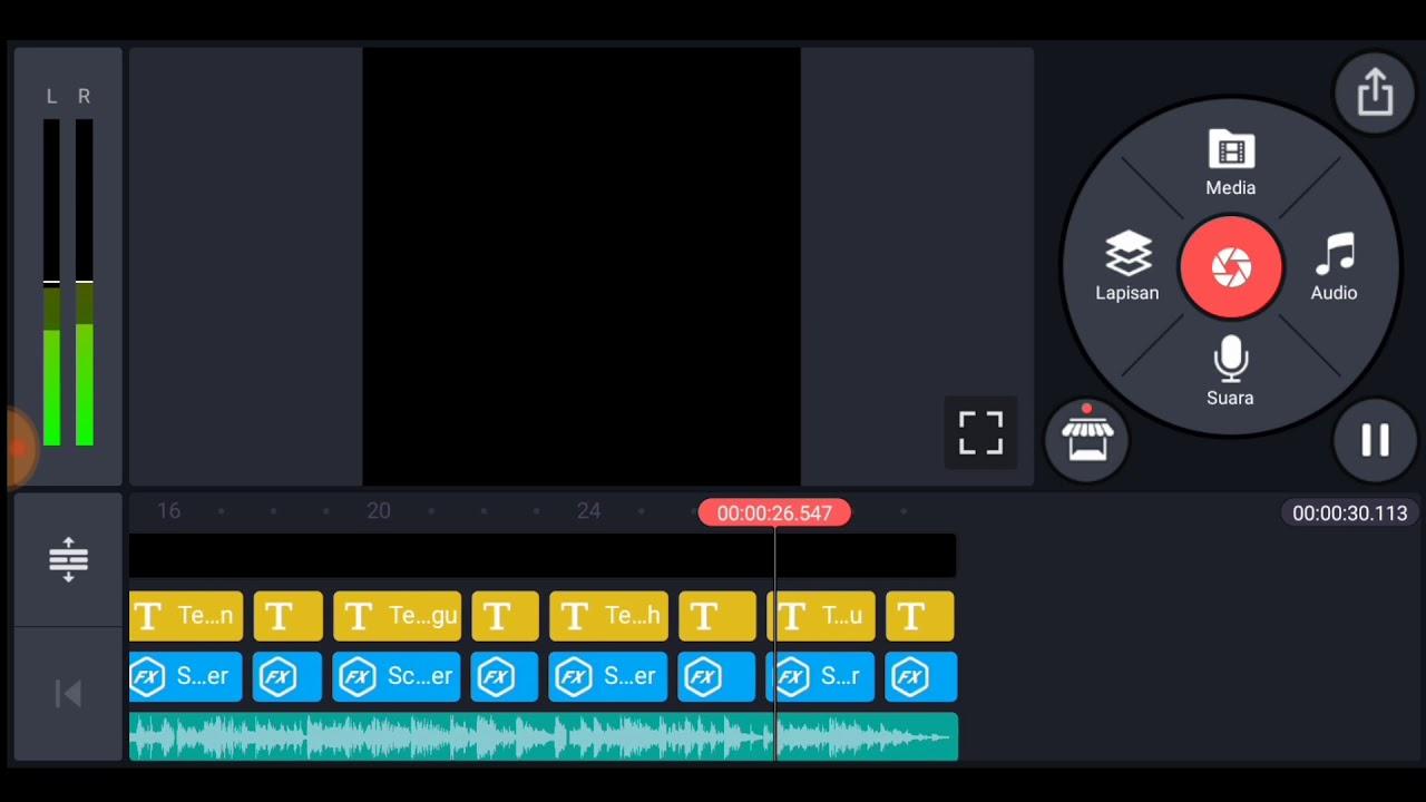 Cara Membuat Video Lirik Lagu Warna Warni Di Kinemaster ...