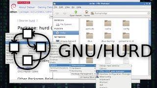 Instalacion de Debian GNU/HURD Parte II Instalación del sistema base